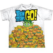 Teen Titans Go - Burgers & Dogs - Youth Short Sleeve Shirt - Large