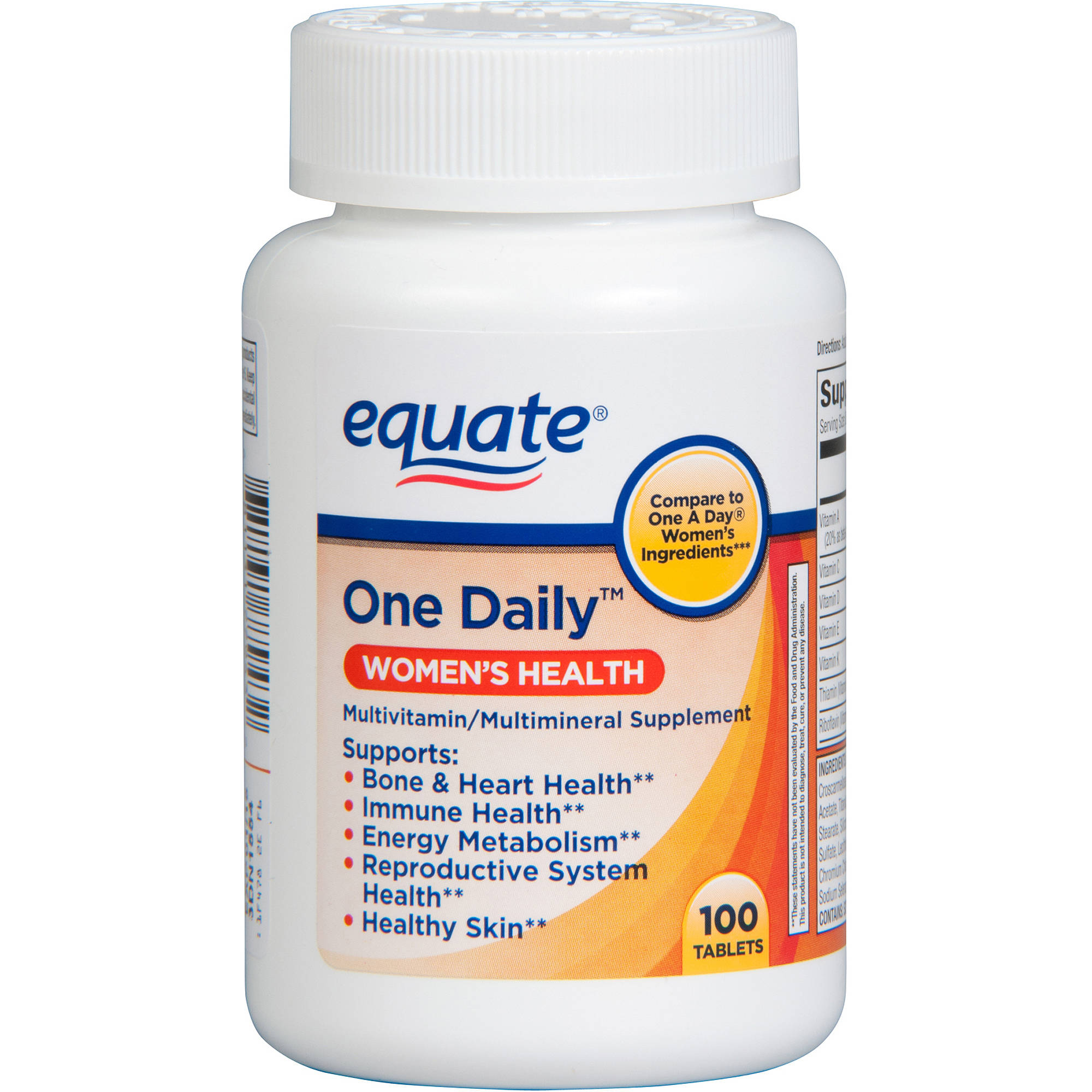 One Daily Women's Multivitamin Multimineral Supplement