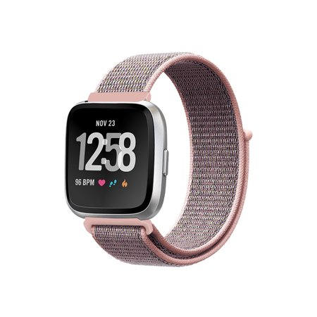 Bands for Fitbit Versa & Versa Lite & Versa Special Edition, Soft Nylon Sport Loop Wrist Strap Replacement Wristbands