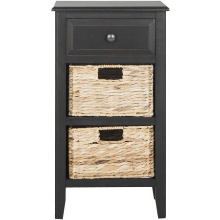 Safavieh Everly Drawer Side Table Multiple Colors