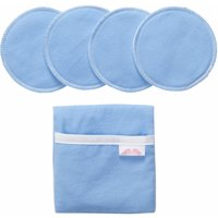 """NuAngel """"Flip and Go"""" Nursing Pad Case with 4 Pads, Blue"""