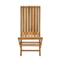 Portable And Useful Wood Teak Folding Chair