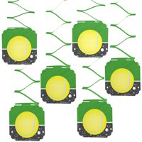 You Got Served - Tennis - Baby Shower or Tennis Ball Birthday Party Hanging Decorations - 6 Count