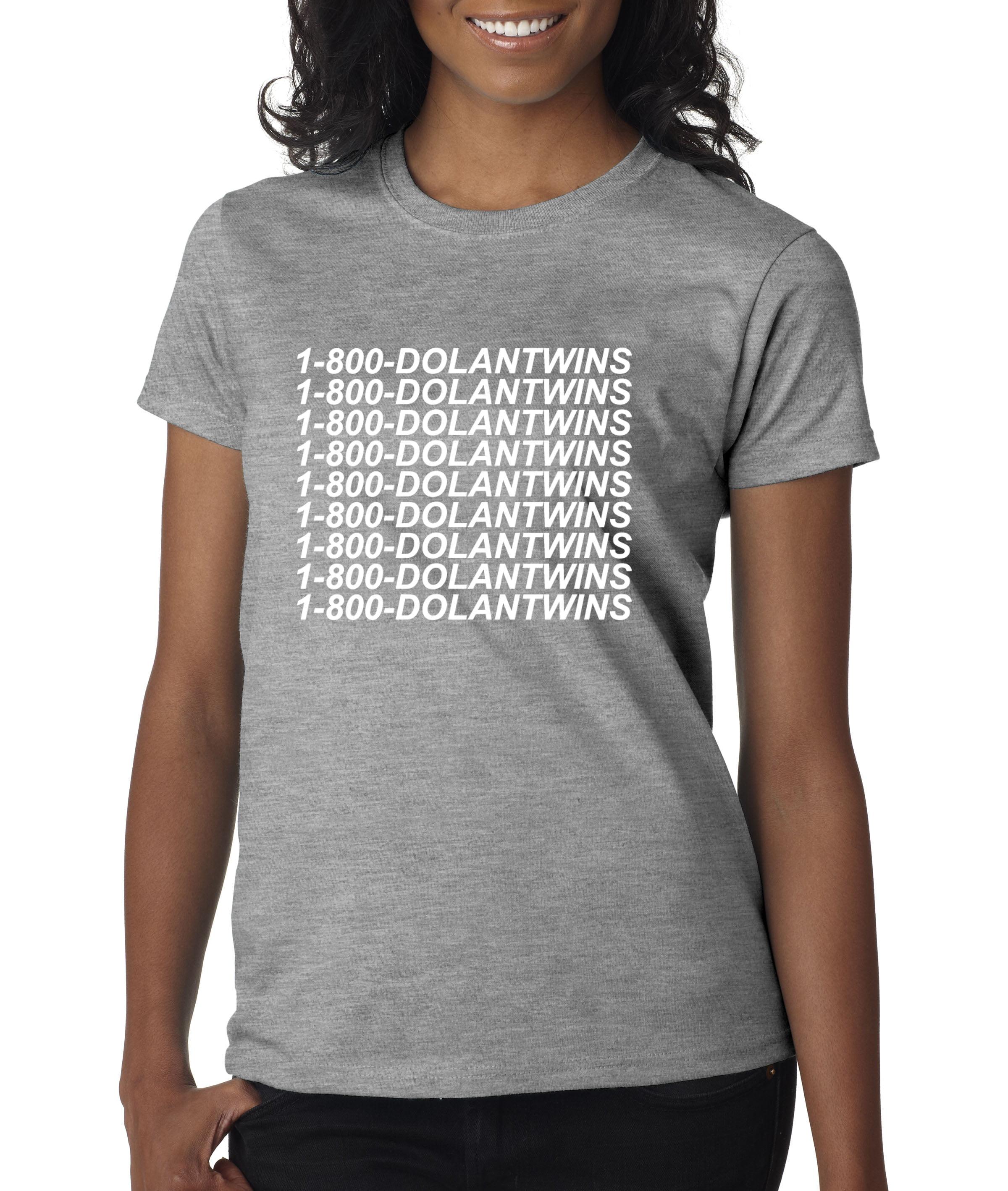 6fdeebf1d New Way - 761 - Women's T-Shirt 1-800-DOLANTWINS Dolan Twins Hotline Bling  XL Heather Grey - Walmart.com