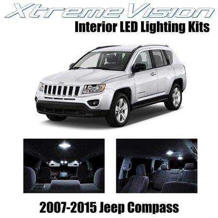 Xtremevision Led For Jeep Compass 2007 2015 4 Pieces