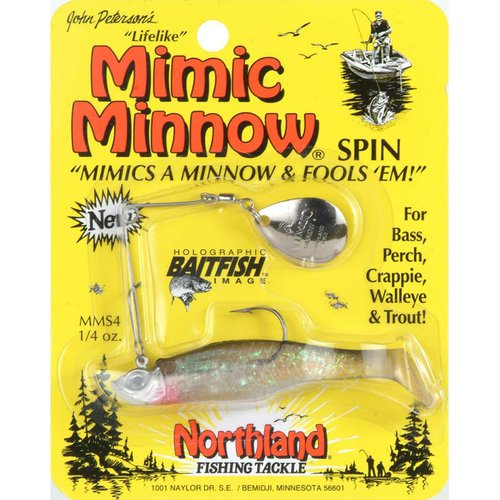 Northland Tackle Mimic Minnow Spin 1/4oz.