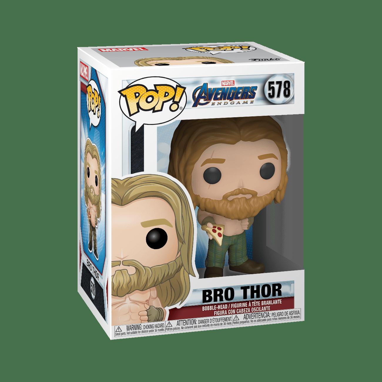 Funko POP! Marvel: Endgame - Thor w/ Pizza