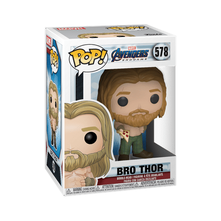 Funko POP!  Marvel: Endgame - Thor w/Pizza