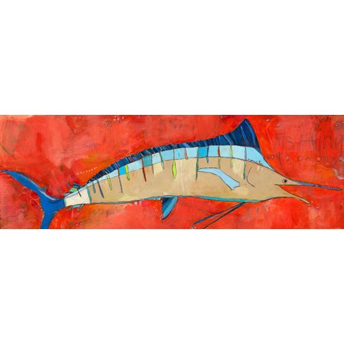 Oopsy Daisy Marlin by Jennifer Mercede Canvas Art