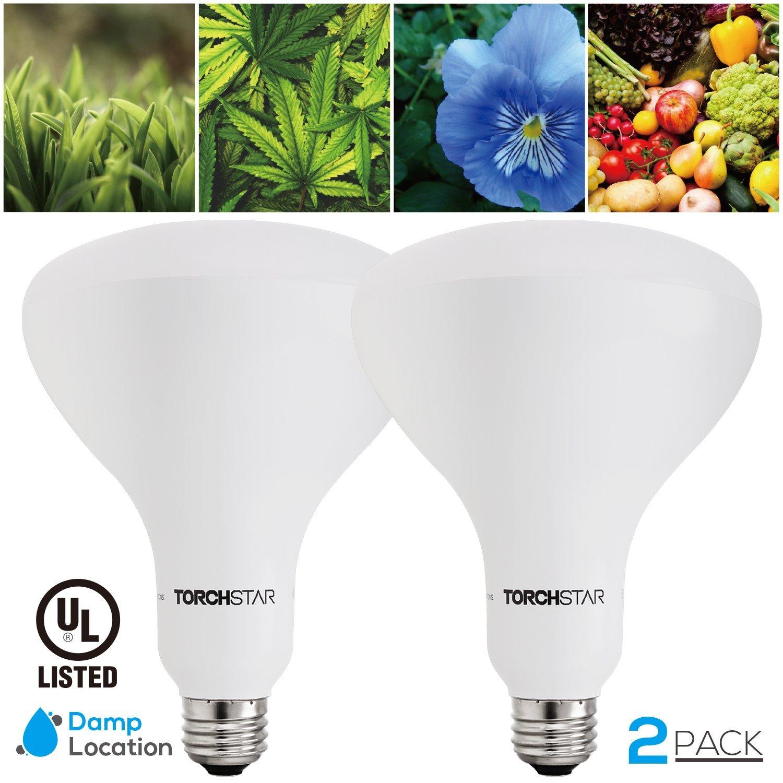 2 Pack Led Indoor Plant Grow Light Bulbs Plant Grow Lights For