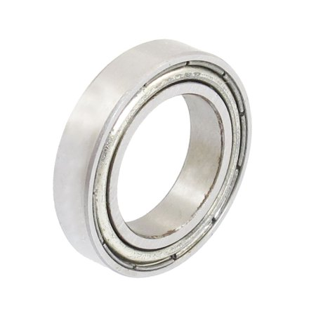 Unique Bargains 15mm x 24mm x 5mm Metal Shielded Deep Groove Miniature Ball Bearings