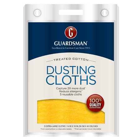 Guardsman Reusable Ultimate Dusting Cloths, 5