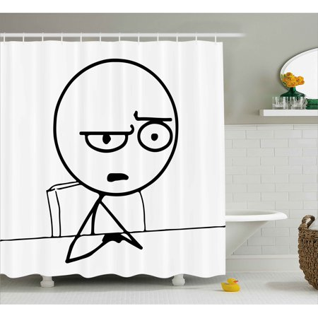 Humor Shower Curtain, So What Guy Meme Face Best Avatar ...