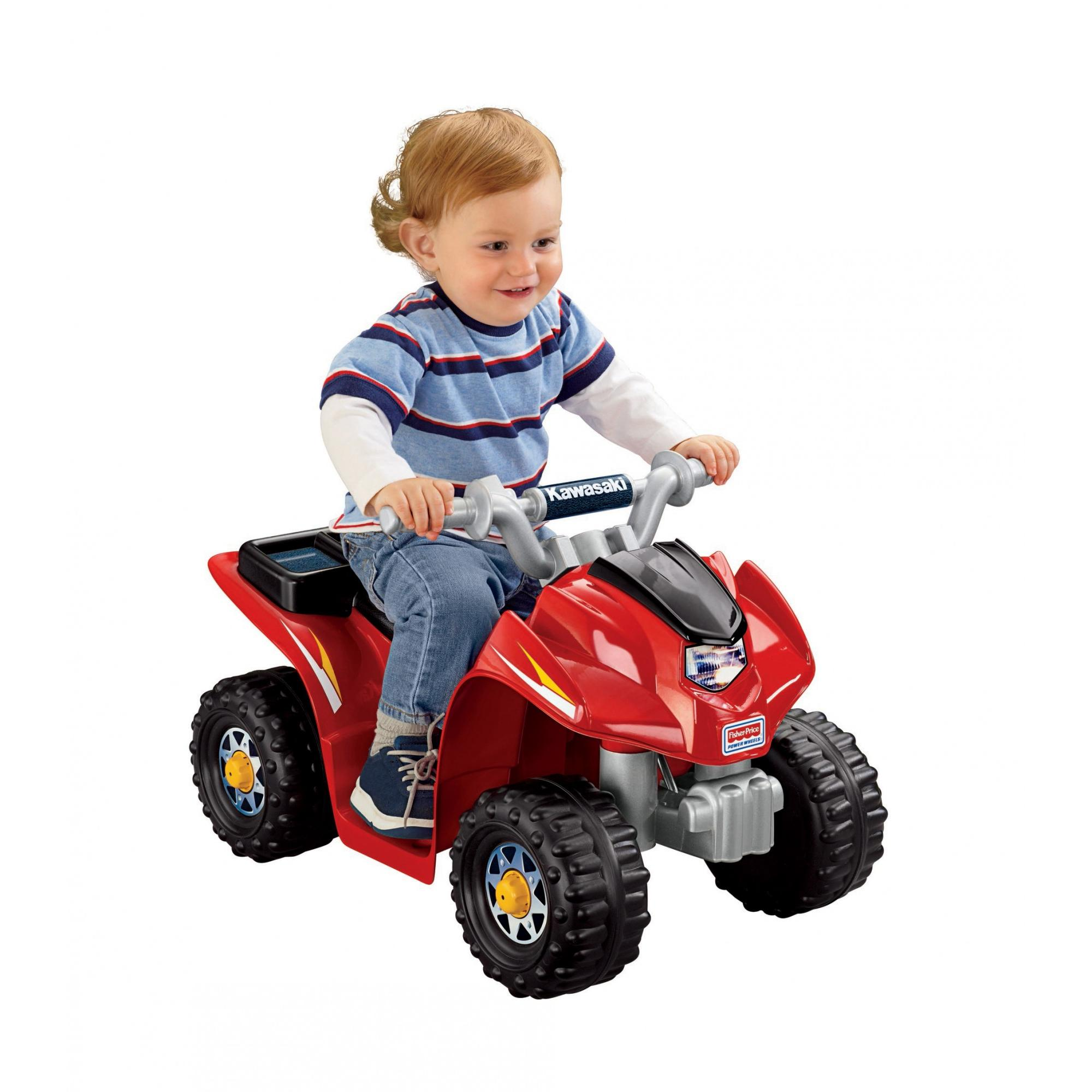 Power Wheels Lil' Kawasaki 6-Volt Battery-Powered Ride-On