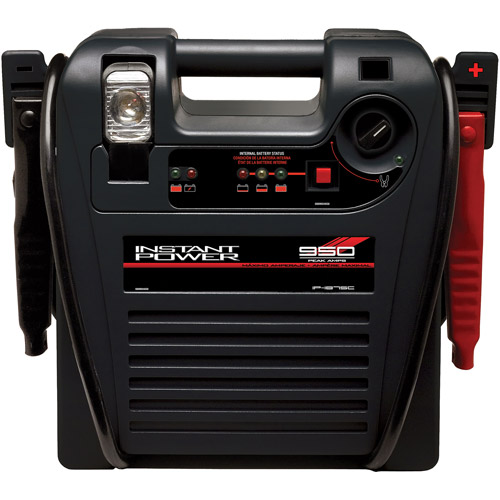 Schumacher Instant Power with 18-Ah Battery with Air Compressor and Light