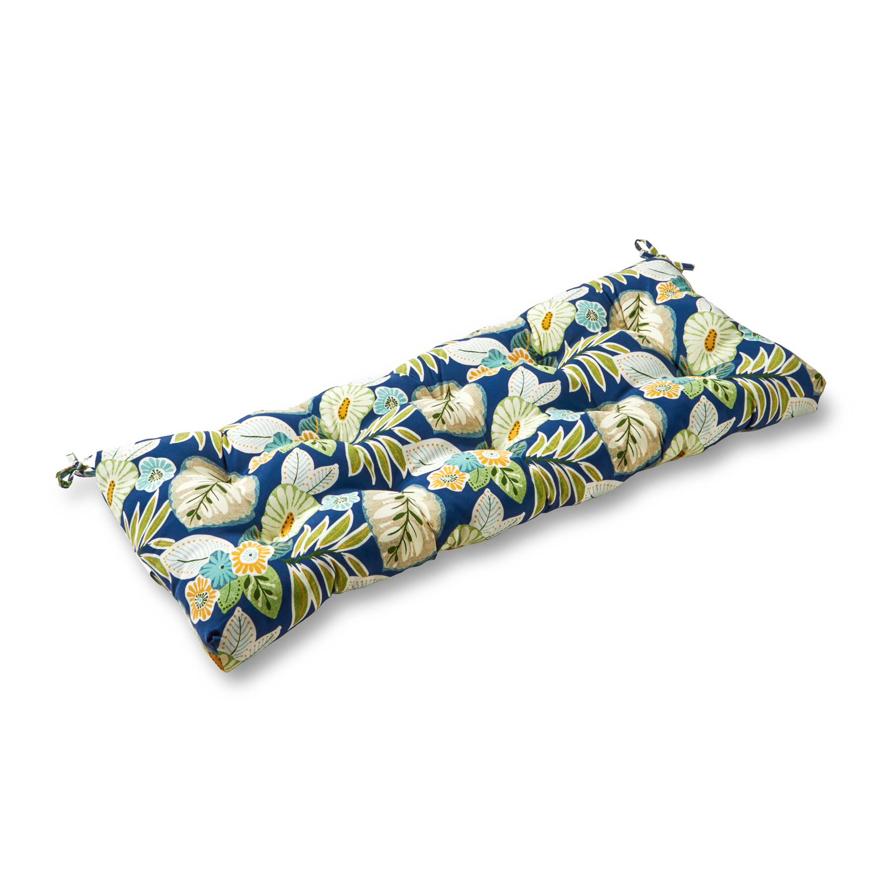 Marlow Floral 44 x 17 in. Outdoor Swing/Bench Cushion