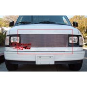 Compatible with 85-94 Chevy Astro Van GMC Safari Van Main Upper Billet Grille C85103A