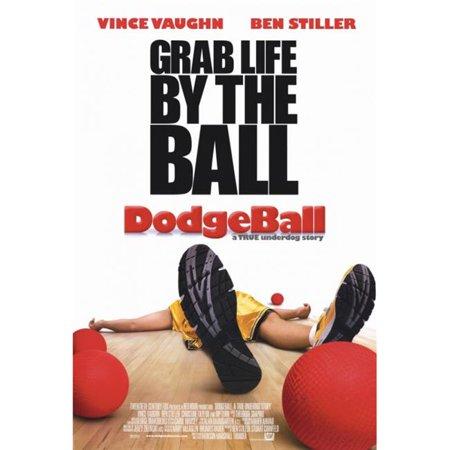 Underdog Poster - Pop Culture Graphics MOVCF1383 Dodgeball - A True Underdog Story Movie Poster Print, 27 x 40