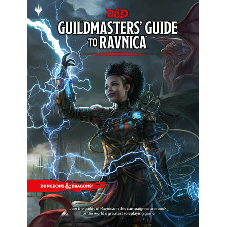 Dungeons & Dragons Guildmasters' Guide to Ravnica (D&D/Magic: The Gathering Adventure Book and Campaign