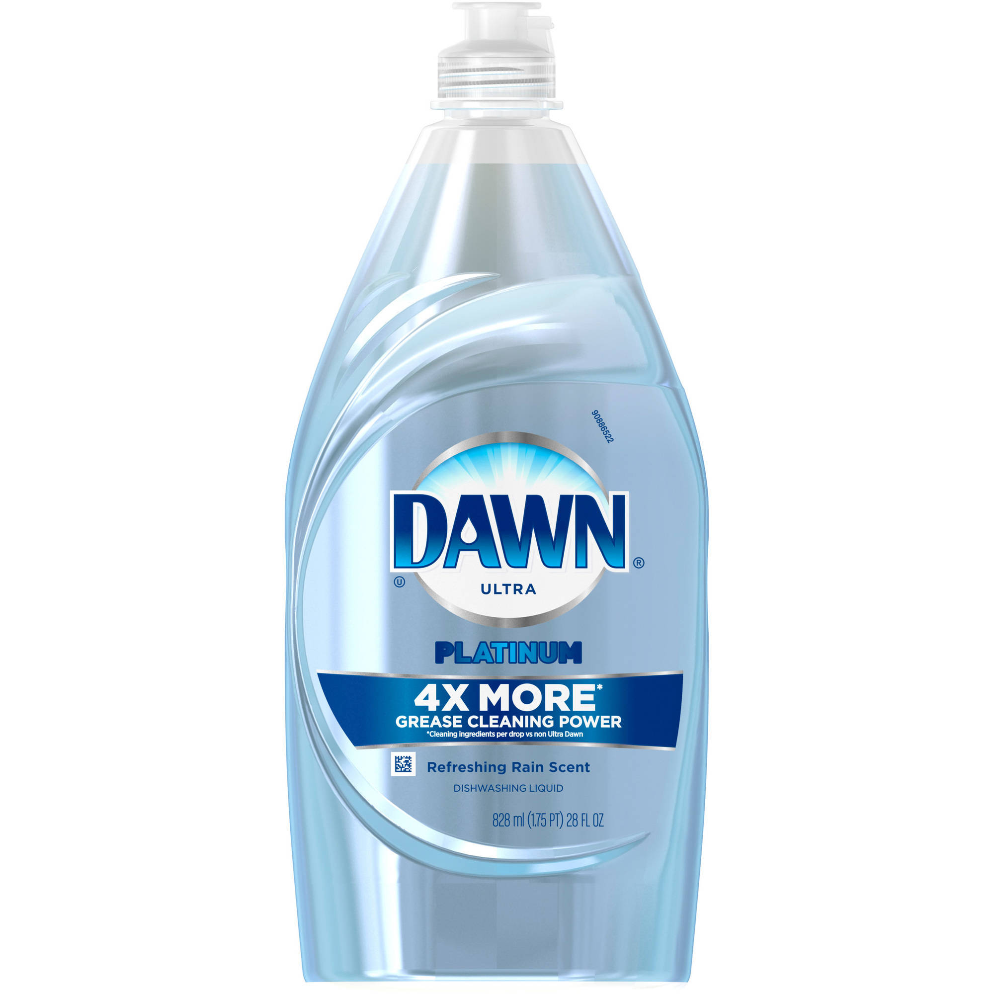 Dawn Platinum Power Clean Dishwashing Liquid Refreshing Rain 18 Oz