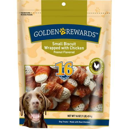 Golden Rewards 16 Oz Smaller Biscuit Wrapped With Chicken