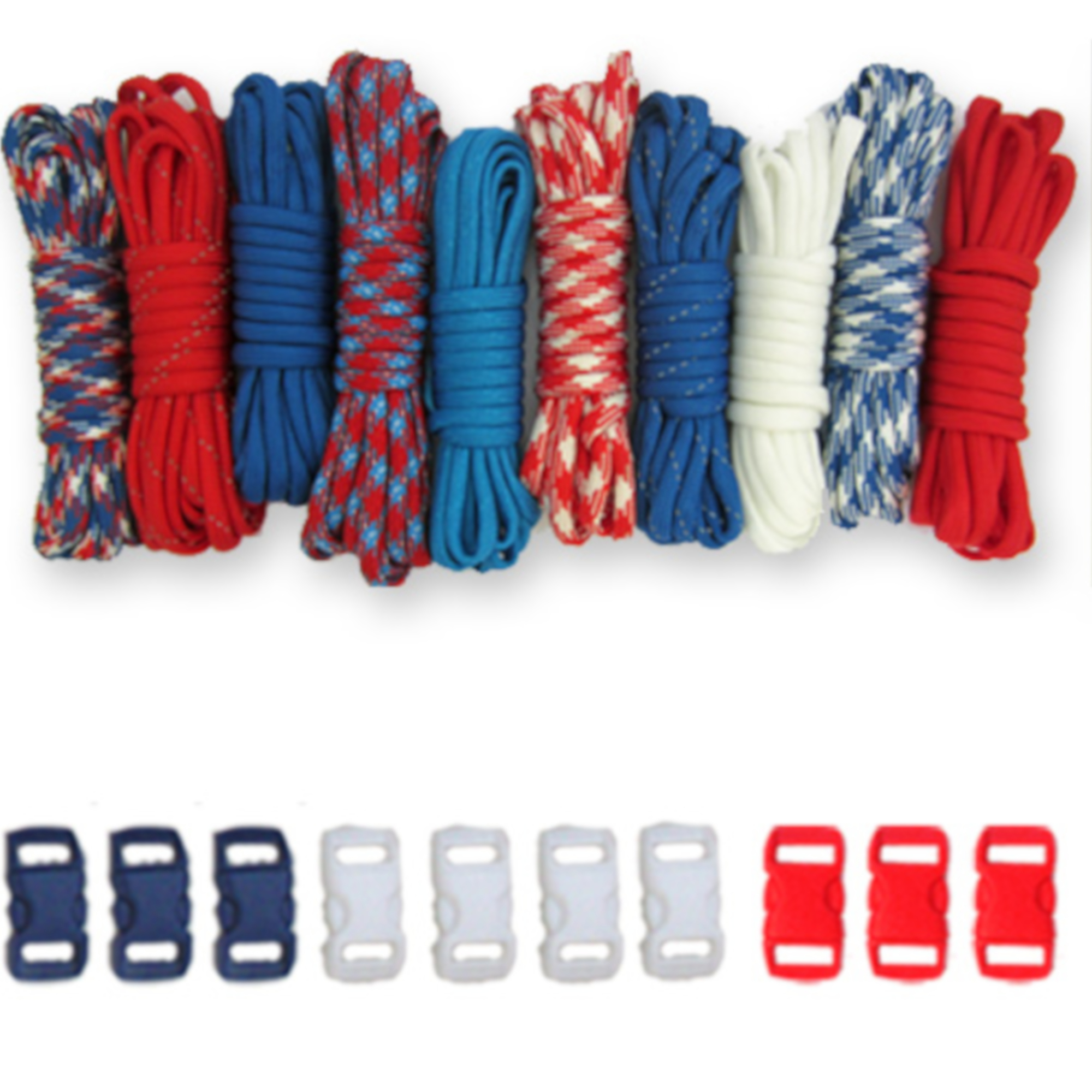 Craft County - Paracord Starter Kit - Multiple Color Combinations