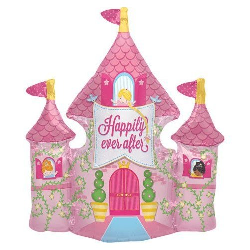 Happily Ever After Castle Helium Foil Balloon - 36 inch