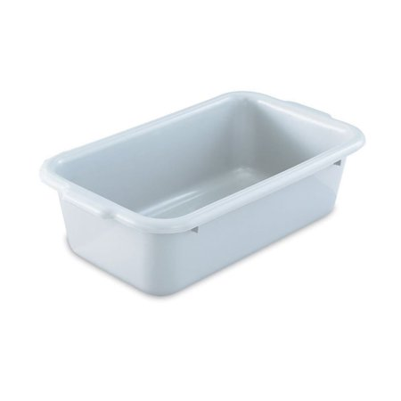 Vollrath 52661 20 x 15 x 7 Heavy Duty Gray Single Compartment Dish Box Heavy Duty Containers