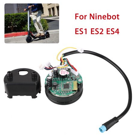 New replacement circuit board with dashboard cover for ES1 ES2 ES4 with factory firmware. Easy to install. Get your scooter up and running in a matter of minutes. Suitable: For (Install New Shocks)