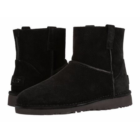 UGG Woman's Unlined Classic Mini Perf Suede Boots ()