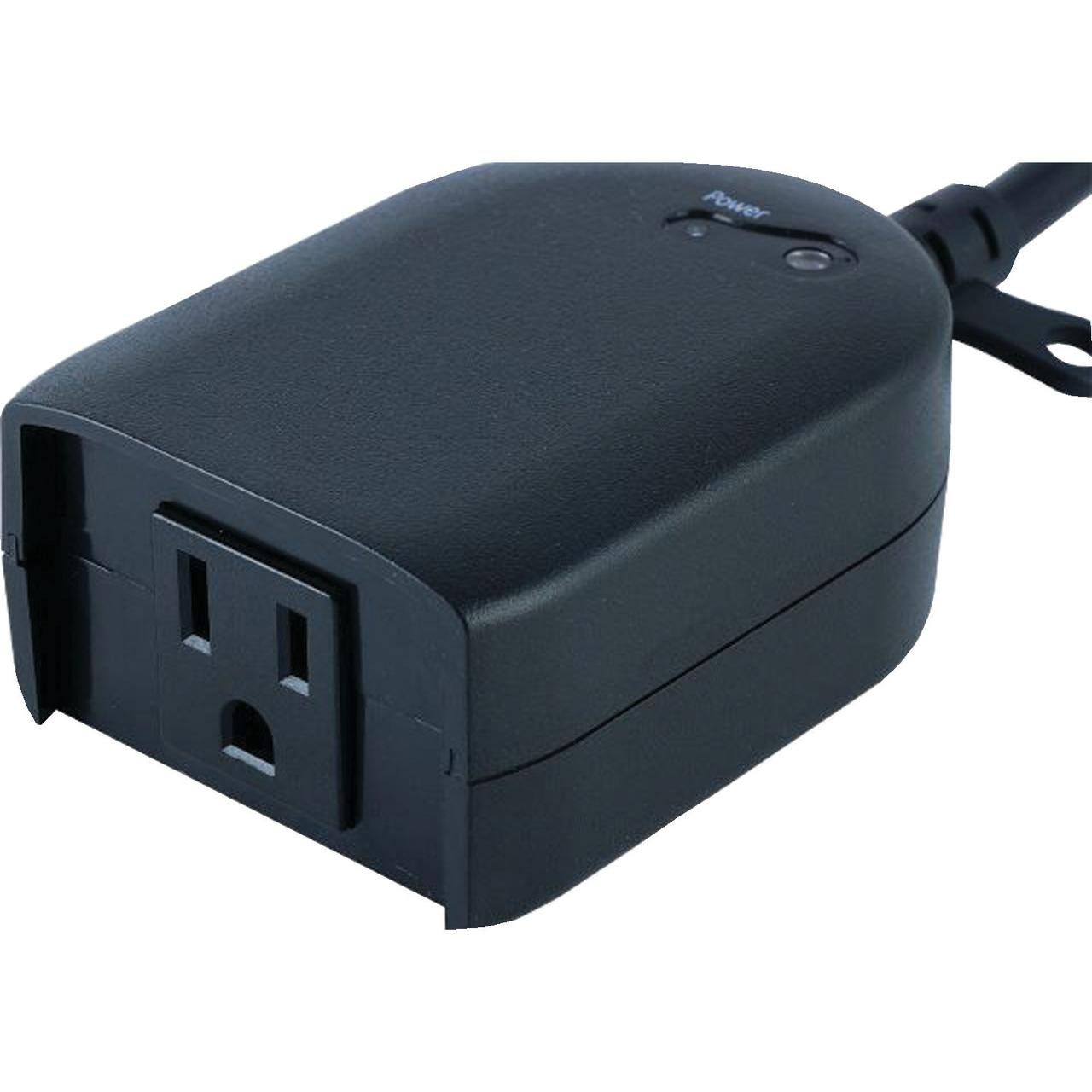 My TouchSmart 36170 Outdoor Dusk Plus 6-hour Single Grounded Outlet Timer by My TouchSmart