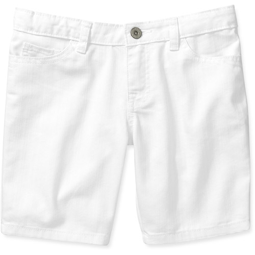 Faded Glory Girls' Colored 5 Pocket Twill Bermuda Short