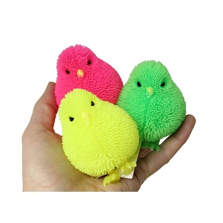 Bulk 12 Puffer Chicks - Easter Toy (Toys By The Bulk)