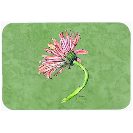 20 x 30 in. Gerber Daisy Pink Kitchen Or Bath Mat - image 1 of 1
