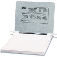 "ACCO Presstex Covers with Storage Hooks, 6"" Cap, 9-1/2"" x 11"""