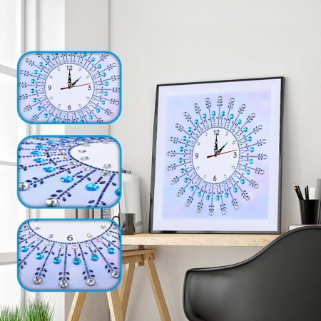 Watch Diamond Paintings DIY 5D Diamond Painting Crystal Special Shape Diamond for Home Wall Decoration - image 6 of 7