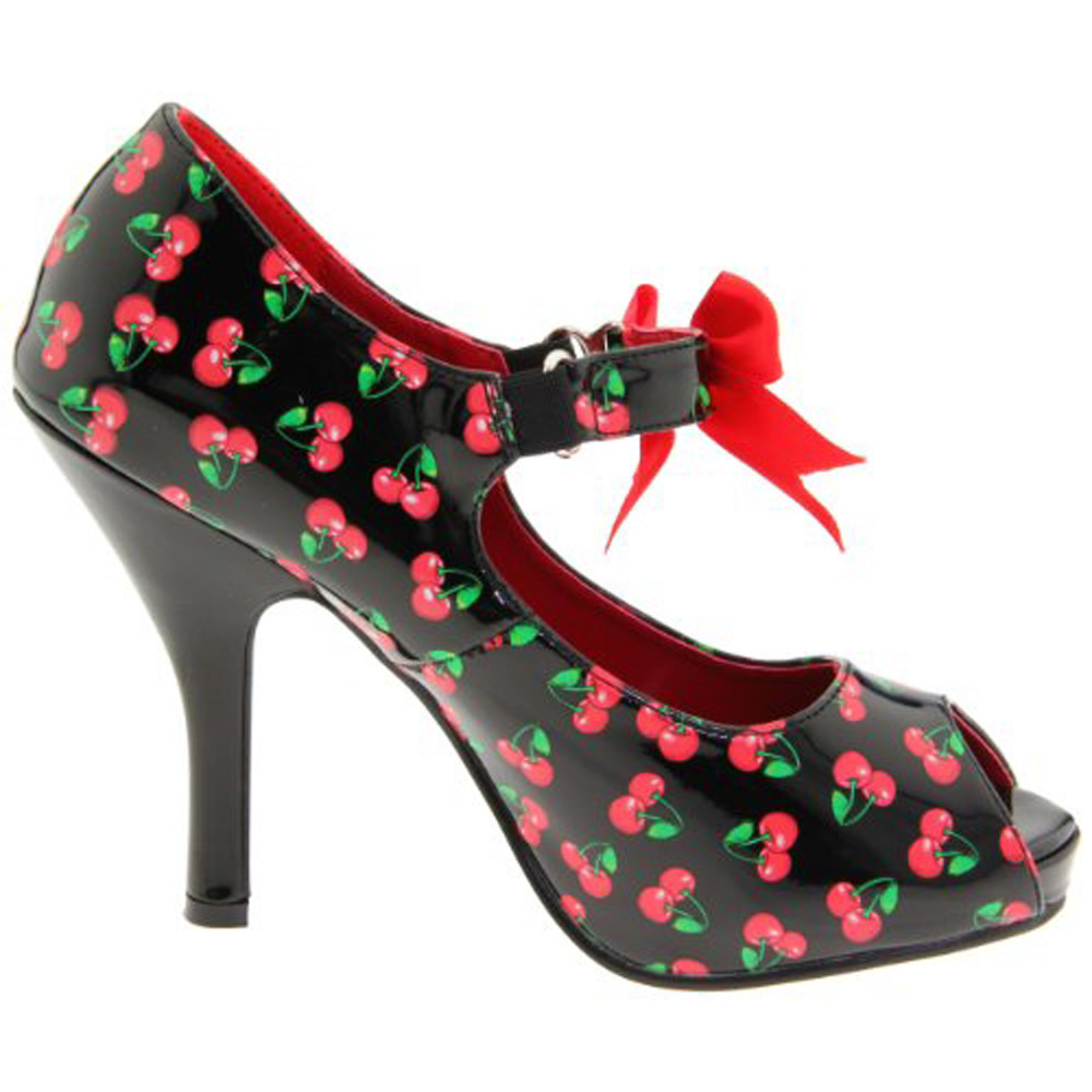 CUTIEPIE-07, Open Toe Maryjane Shoes with Bow