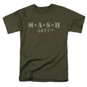 Men's Distressed Logo T-shirt Green