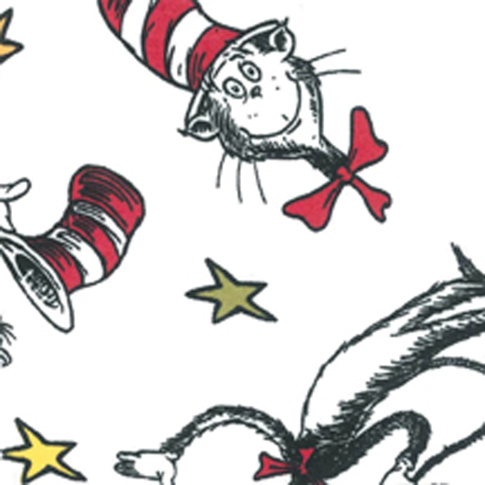 Crib Sheet - Dr. Seuss Cat In The Hat
