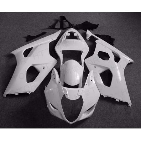 Unpainted Pre-drilled Fairing Kit Bodywork For Suzuki GSXR1000 2003 2004 03 04