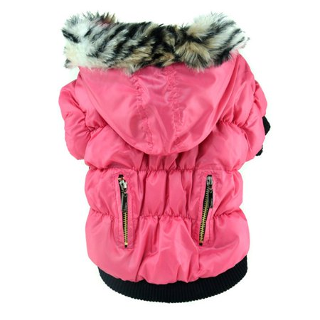 - SunshineLLC Small Dog Pet Cat Hoodie Clothes Snowsuit Puppy Warm Sweater Jacket Coat Apparel