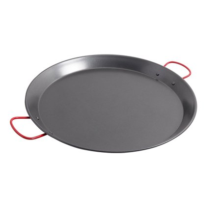 World Cuisine Stainless Steel Paella Pan - Corrales 18