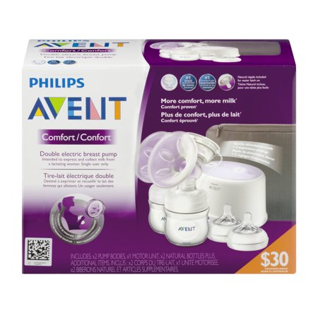 919f9c21d6 Philips Avent SCF334 12 Comfort Double Electric Breast Pump ...