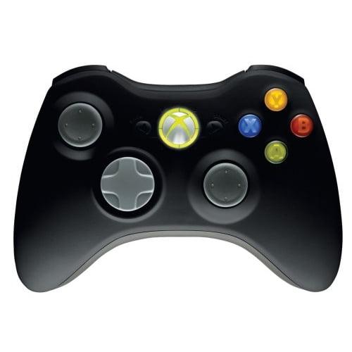Microsoft Wireless Controller - Black (Xbox 360)
