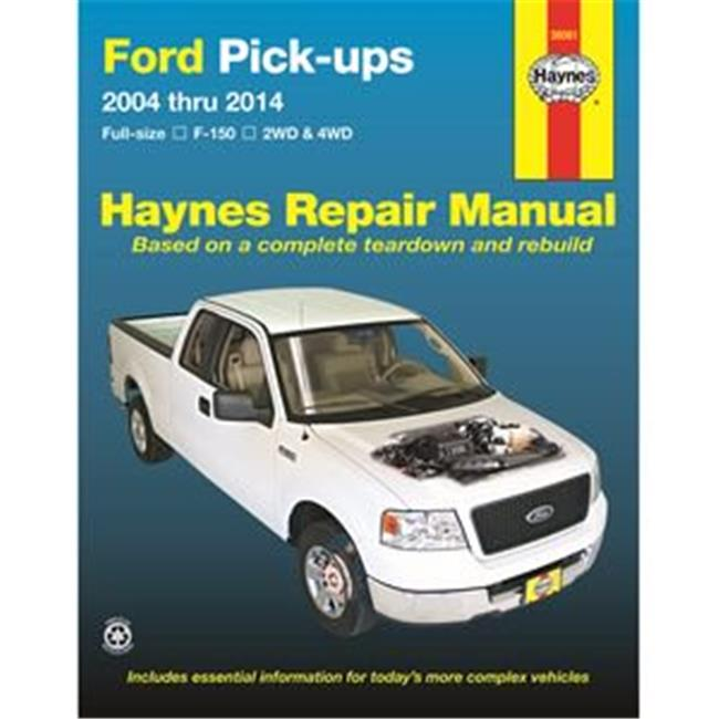 haynes h16 36061 repair manual technical book for 2004 2006 ford f150 rh walmart ca Haynes Repair Manual 1991 Honda Civic Haynes Repair Manuals PDF