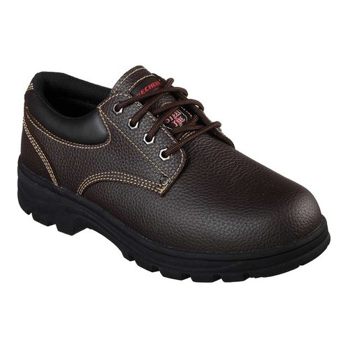 Men's Skechers Work Workshire Tydfil Steel Toe Shoe by Skechers