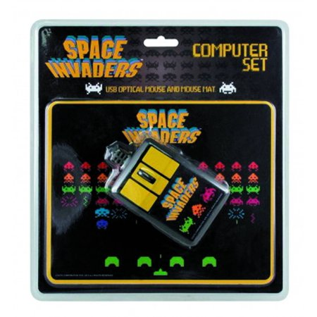 Take Offer Space Invaders Computer Mouse and Pad Before Too Late