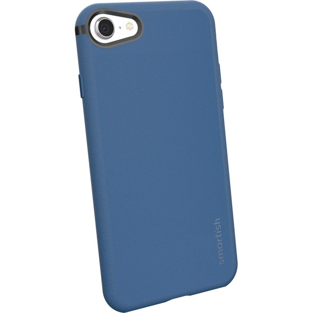 Smartish iPhone 7 / 8 / SE (2020) Slim Case - Kung Fu Grip [Lightweight Protective] Thin Cover for Apple iPhone SE 2020 & iPhone 7/8 (Silk) - Blues ...
