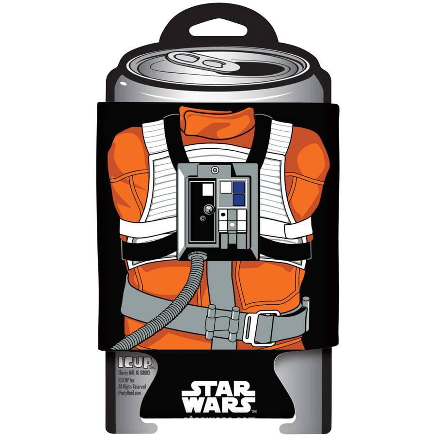 Star Wars Luke Skywalker X-Wing Pilot Character Can Cooler