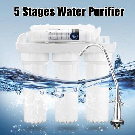 On Clearance 5 Stage Reverse Water Clean Purifier Filter Filtration Drinking Home Filter